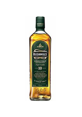Bushmills 10 yr Old Irish Whiskey