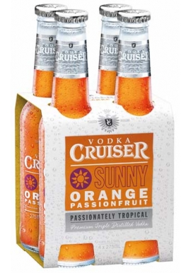 Vodka Cruiser Sunny Orange Passionfruit