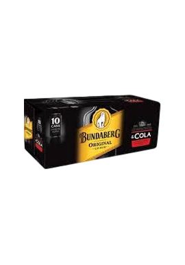 Bundy & Cola 10 Pack
