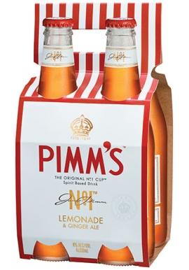 Pimm's Lemonade & Ginger Ale 330ml Bottles