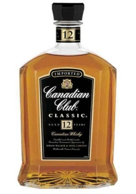 Canadian Club 12yr Old Whiskey 700ml