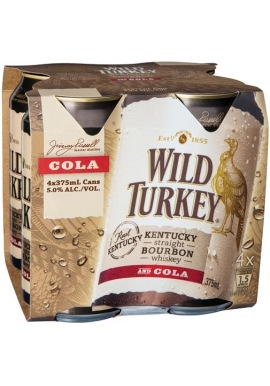 Wild Turkey & Cola Cans 24pack