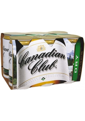Canadian Club & Dry Cube
