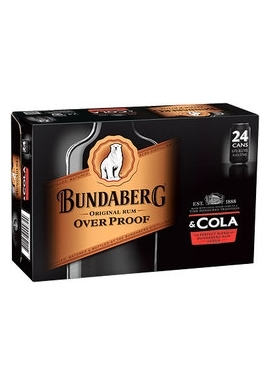 Bundaberg OP & Cola Cans