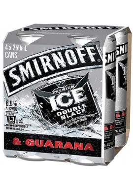 Smirnoff Ice Double Black & Guarana