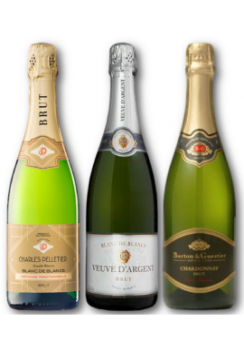 12 Pack Selection French Sparkling