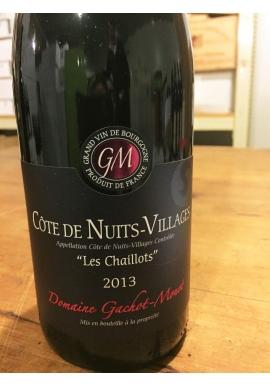 Gachot Monot Cote de Nuits Villages Les Chaillots
